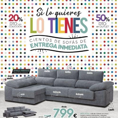 sofas colchones y butacas baratos folleto